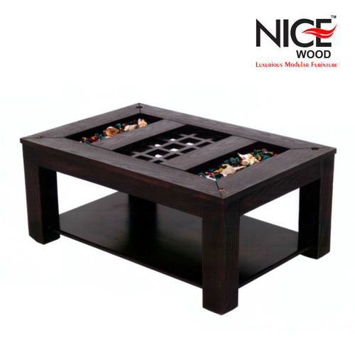 Designer wooden center table