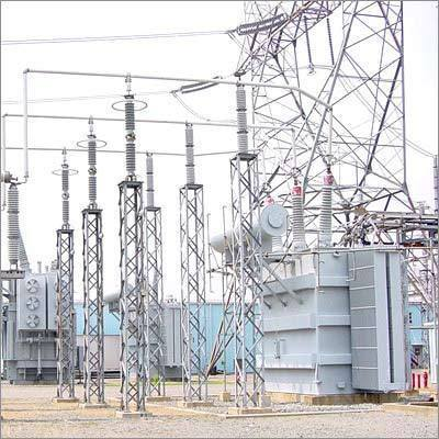 power substation structure