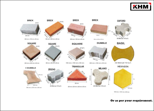 Brick and Block Moulds