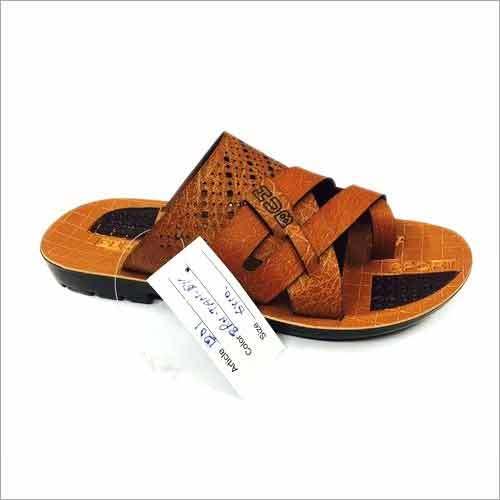Fancy Mens PU Slipper India Made