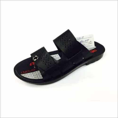 Fancy PU Men's Slipper