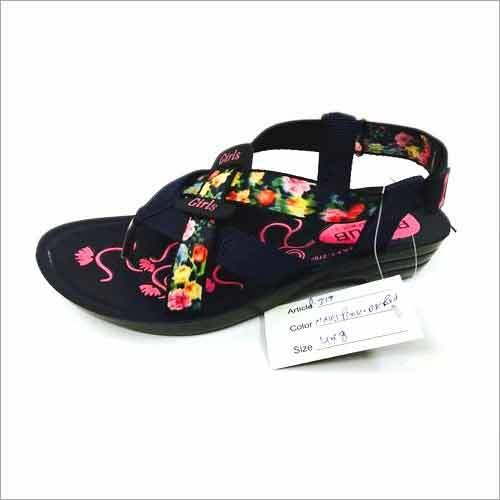 Ladies High Sole PU Sandals