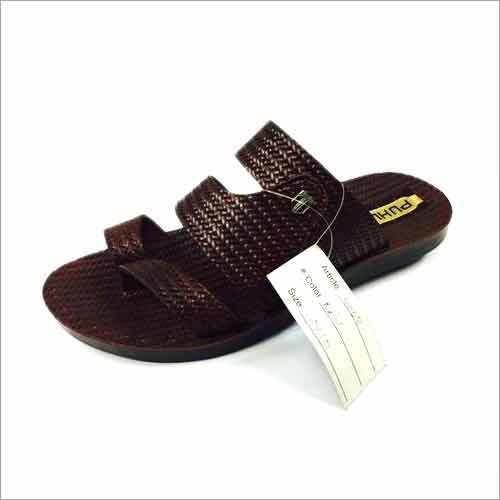 Mens PU Slippers