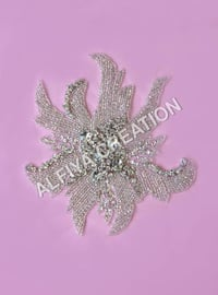 Crystal patch for dresses