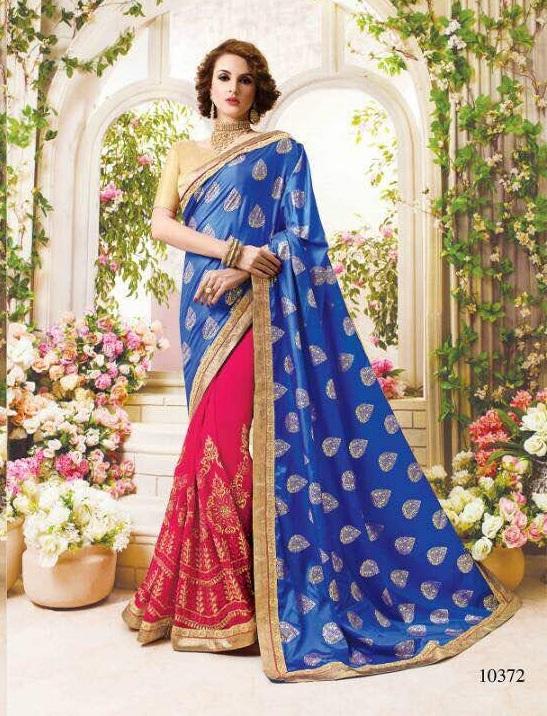 Half Silk Sarees