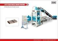 4 KVT Automatic Fly Ash Bricks Making Machine