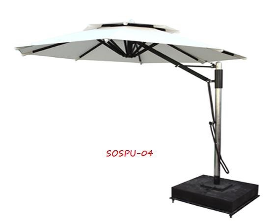 Contemporary Offset Patio Umbrella