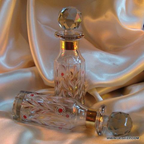 Decorative vintage Glass Decanter