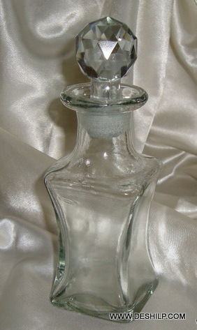 Pretty and Beautiful Square vintage Decanter