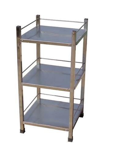 Bed Side Locker Open Stainless Steel