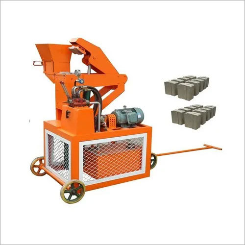 Hydraulic Interlocking Block Machine-Double Press