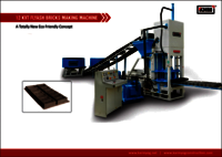 12 KVT Automatic Flyash Bricks Making Machine