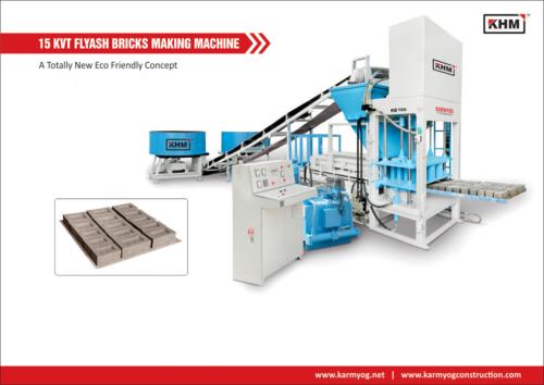 15 KVT Automatic Flyash Bricks Making Machine