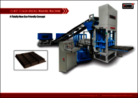 15 KVT Automatic Flyash Bricks Making Machine