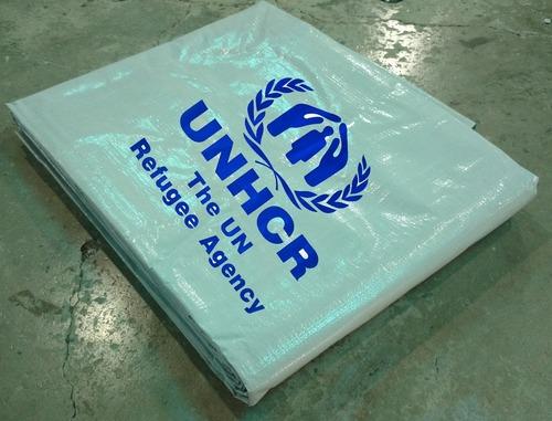 Unicef - Unhcr Plastic Sheeting