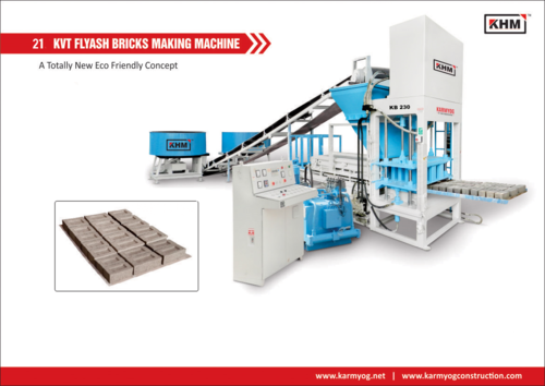 Automatic Flyash Bricks Making Machineries
