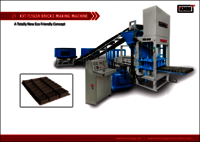 21 KVT Automatic Flyash Bricks Making Machine
