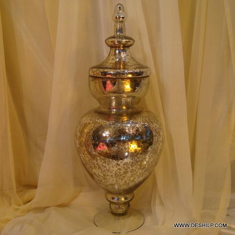 Big Glass Jar with glass lid Storage