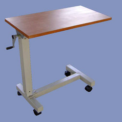 Over Bed Table With Adjustable Height