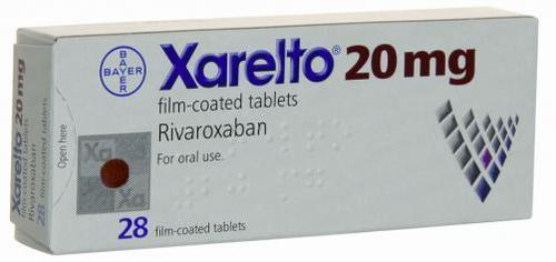 Rivaroxaban 20mg
