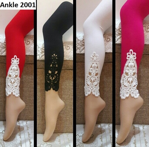 Designer Legging  With Ankel