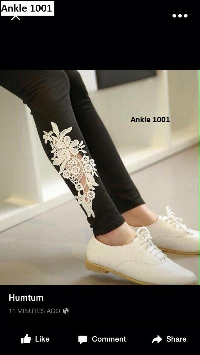 Designer Legging  With Ankel