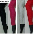 Designer Leggings  With Imported Lace work