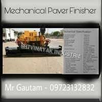 Mechanical Paver Finisher features