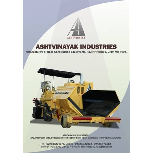Mechanical Paver Manufacturer