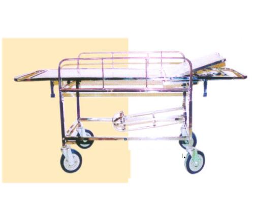 Stretcher On Trolley (Ss/Dx)