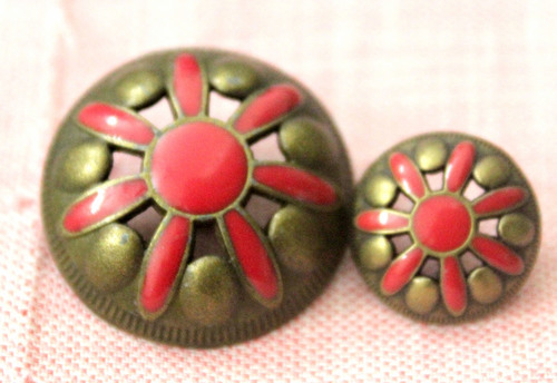 Designer Copper Suit Button