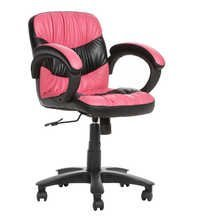 THE SORIENTE LB WORKSTAION CHAIR PINK AND BLACK