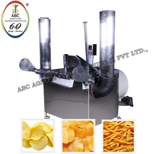Potato Chips Batch Fryer Machine
