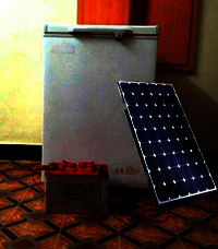 Solar DC 12V Deep Freezer 100 Liters