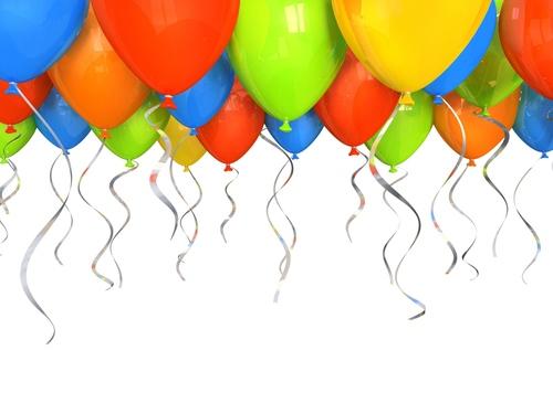 Birthday Balloons(25 Pieces)