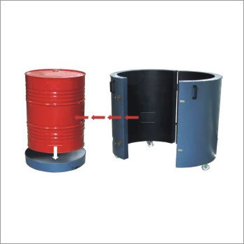 Single Metallic Drum Heater