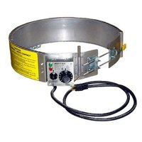 Clamp Type Drum Heater