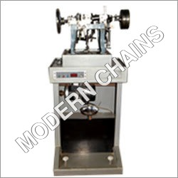 Semi Automatic Curve Chain Machine