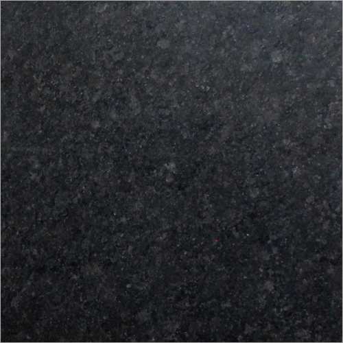 R Black Granite Slab