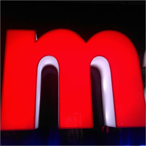 Indoor Acrylic Letter Sign