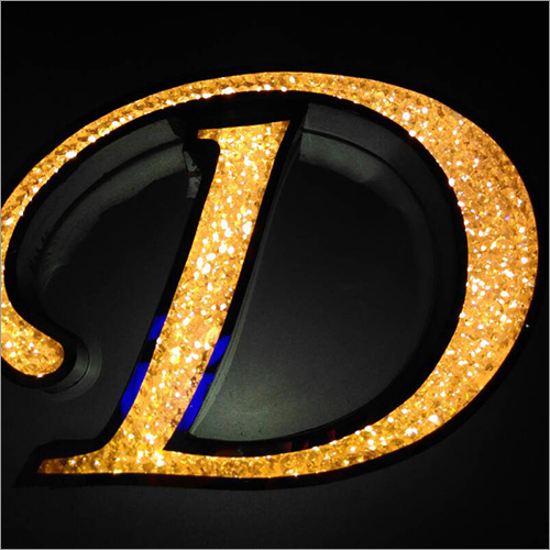 Indoor Led Acrylic Letter Sign