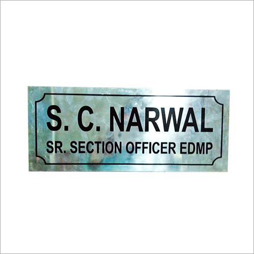 Door Name Plate