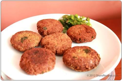 Mutton Shaami Kabab
