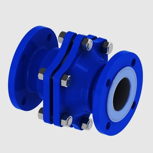 PTFE Lined Ball Check Valve - NRV