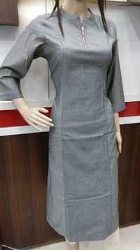 Oxford Denim Kurtis