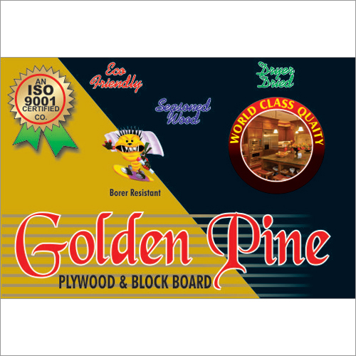 Golden Pine Plywood