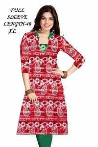 Cotton Printed Kurtis @ 150