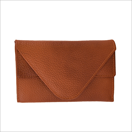 Leather Bifold Womens Clutches