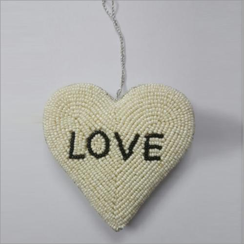 Zardozi Work Heart Wall Hanging