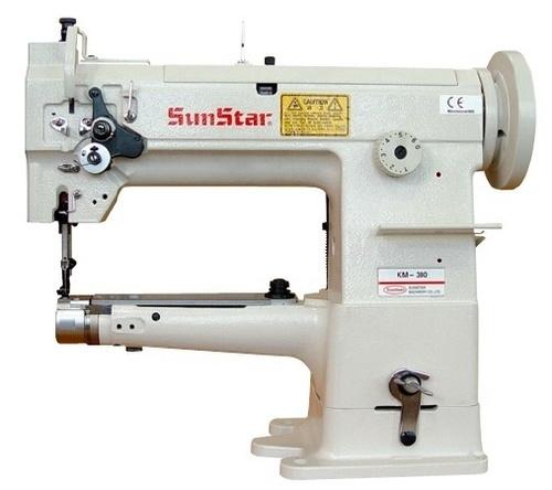 Cylinder Bed, 1-Needle, Unison Feed, Lock Stitch Sewing Machine